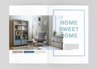 Interior del catálogo de Finsa
