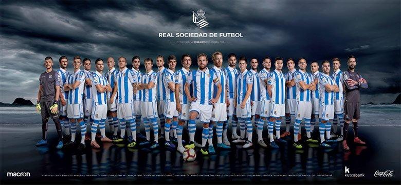 Póster Real Sociedad 2018-2019