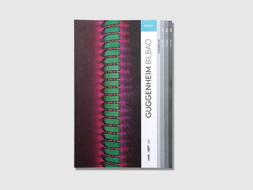 Guggenheim Bilbao: diseño y nuevo formato de la guía.