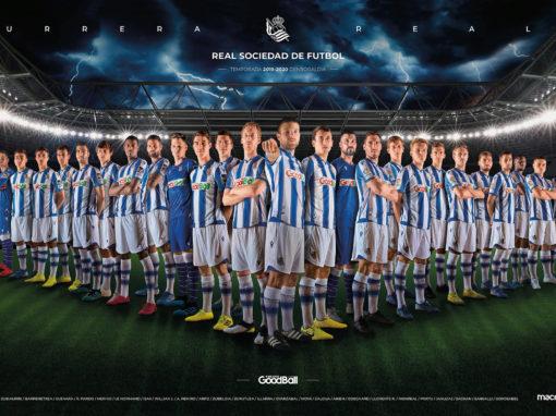 Póster Real Sociedad 2019-2020